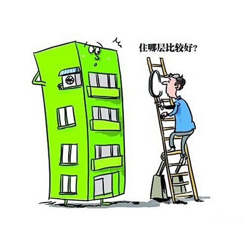 许多楼房矢量图