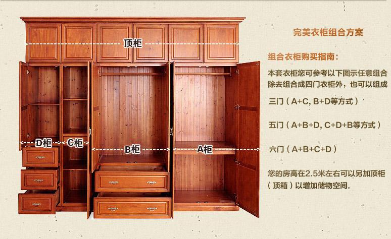 衣柜内部的设计,哪种适合你